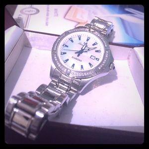 Lucien Piccard diamond watch